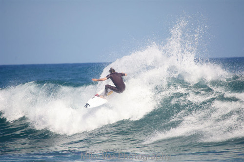 Dane Reynolds Powers Through a Section