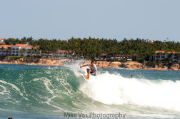 Los Cabos Open - Day 1 -Floater ~ Photo: Mike Vos