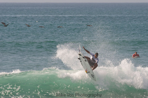 Los Cabos Open - 6-20-2013 - Frontside Touchrail Air ~ Photo: Mike Vos