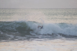 Layback Carving Snap Costa Rica  #2 of 2. Photo: Mike Vos