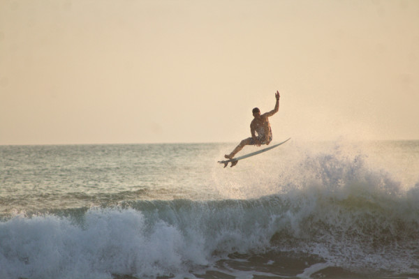 Frontside Air, Costa Rica. Photo: Mike Vos